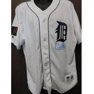Signed Fielder Cecil Detroit Tigers Cecil Fielder Detroit Tigers Authentic Jersey Size 52 Signature