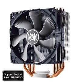 CoolerMaster Cooler HYPER 212X CPU COOLER FOR INTEL AMD ALUMINUM HEATPIPE