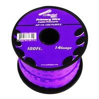 Audiopipe 14 gauge 100ft Purple primary wire
