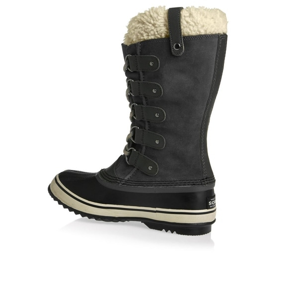 SOREL Womens Joan Of Arctic Suede Closed Toe Mid-Calf Cold, Grey, Size 9.0