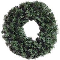 "Canadian Pine Wreath 220 Tips, 24""-"