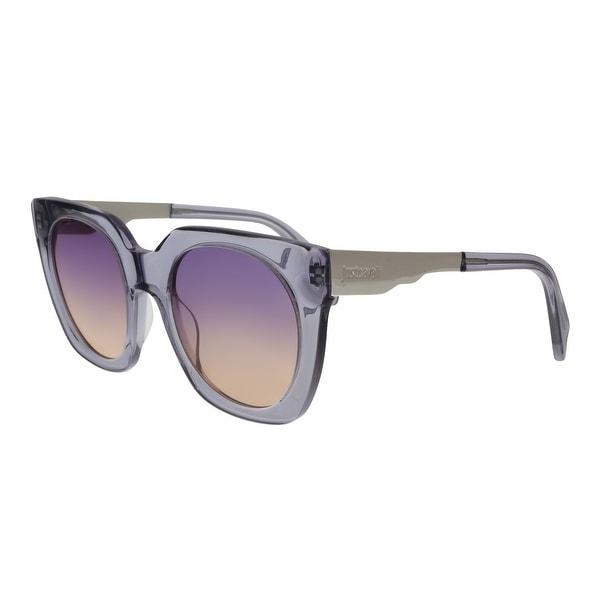 14ea88d0d98 Just Cavalli JC753S 20Z Transparent Purple Square Sunglasses - no size.  Click to Zoom