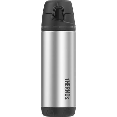 Thermos 16oz ss ins double wall backpack bottle black