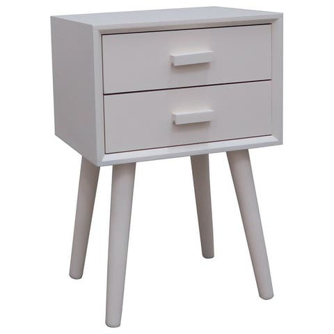 Hartford Two Drawer Side Table