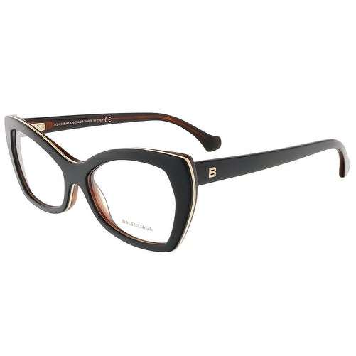 Balenciaga BA5045/V 005 Black Cat Eye prescription-eyewear-frames