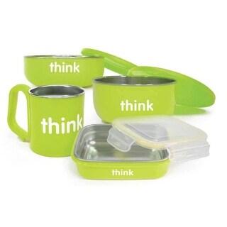 Thinkbaby Feeding Set BPA Free Green - 1 Green
