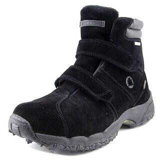 Icebug Ryum-L Women Round Toe Suede Black Hiking Boot