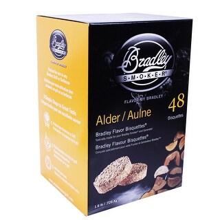 Bradley Smoker Btal48 Alder Flavoured Bisquettes Pack Of 48