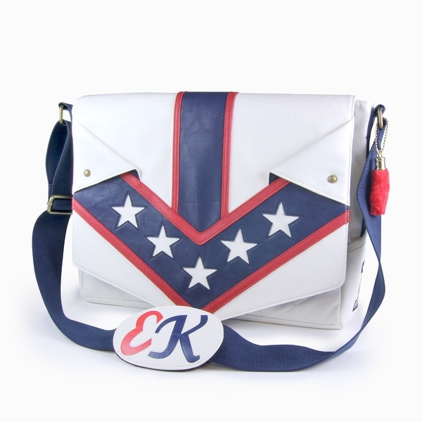 Shop Evel Knievel Jumpsuit Messenger Bag - Multi - Free Shipping ... 4dd3551d5c