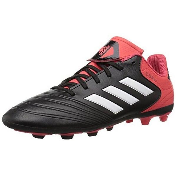 Adidas Unisex Copa 18.4 Fxg J, Black/White/Real Coral