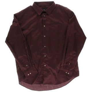 Van Heusen Mens Premium No Iron Dress Shirt - XL
