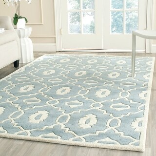 Link to Safavieh Handmade Chatham Betsey Modern Wool Rug Similar Items in As Is
