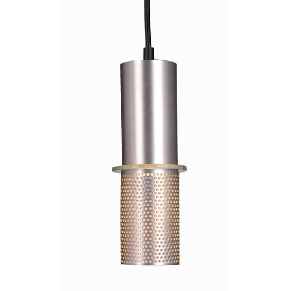 "Kovacs GK P9451-2 1 Light 9"" Height Mini Pendant from the Larry Collection"