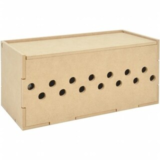 Beyond The Page MDF Ribbon Storage Box - 11.5 x 5.25 x 5.25 in.