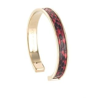 Stamerra PICCOLO PITTONE RO Red Genuine Python Bracelet