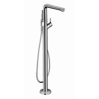 Hansgrohe 72413  Talis S Floor Mounted Tub Filler with Built-In Diverter and 1.75 GPM Hand Shower