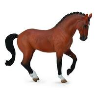 Breyer 1:18 CollectA Model Horse: Chestnut Australian Stock Horse Stallion - multi