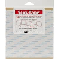 Scor-Pal Scor-Tape Sheets, 6 by 6-Inch, 5-Pack