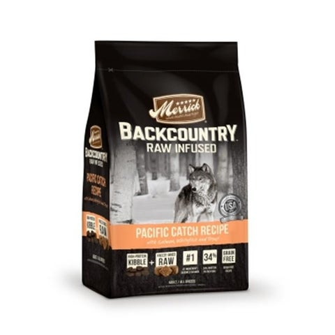 Backcountry Pacific Catch Recipe Raw-Infused Dry Dog Food