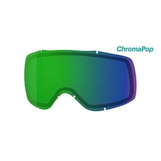 Smith Optics Showcase OTG Ski Goggle - Replacement Lens - ChromaPop Everyday Green Mirror - SW6CPG