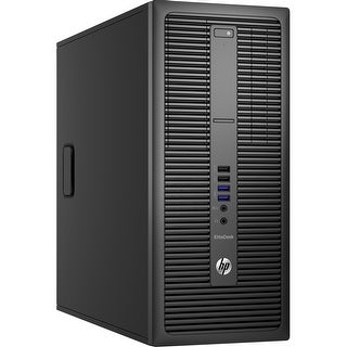 HP EliteDesk 800 G2 P4K16UT Desktop Computer - Intel Core i5-6500 3.2 GHz Quad-Core Processor - 8 GB-REFURBISHED