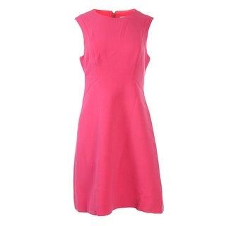 Kate Spade Womens Sicily Ponte Sleeveless Wear to Work Dress - 12