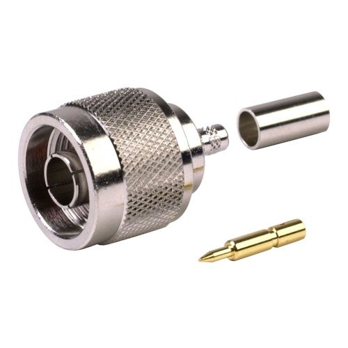 RF Industries - N Male Crimp-RG58/RG141