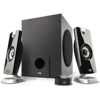 Link to Cyber Acoustics CA-3090 18W Speaker System with Control Pod Similar Items in Computer Accessories