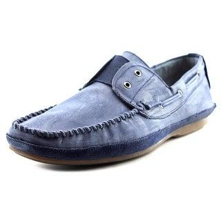 Rogue Free Men Moc Toe Leather Boat Shoe