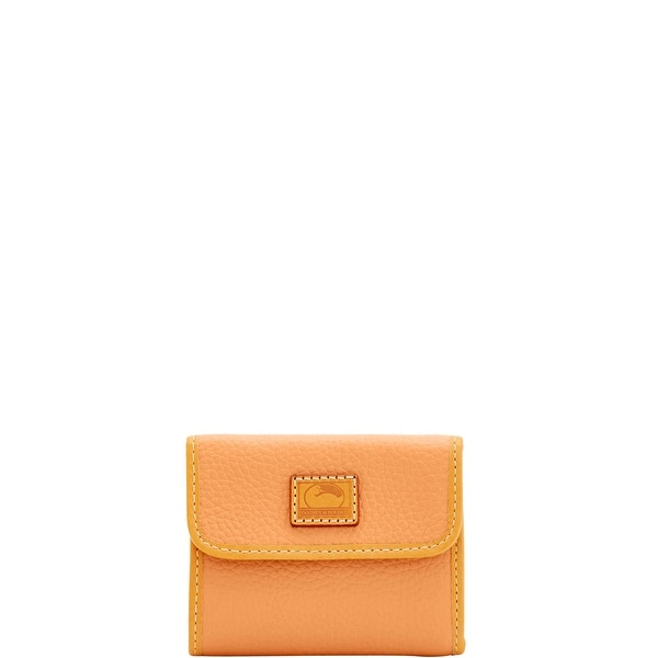 Dooney & Bourke Patterson Leather Small Flap Credit Card Wallet (Introduced by Dooney & Bourke at $98 in Apr 2018)