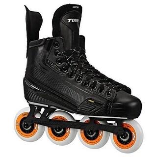 Tour Hockey Mens Code 3 Sr Inline Hockey Skate, Black, 11