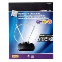 Monster 140062-00 VHF/UHF/FM Digital Indoor TV Antenna, 75 OHM