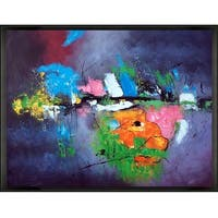 Pol Ledent 'Abstract 8821503' Hand Painted Oil Reproduction