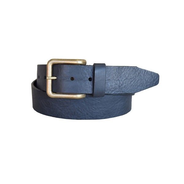 Lejon Western Belt Mens Catch & Release Leather Black