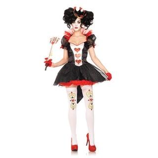 Leg Avenue Royal Queen Adult Costume - Black - Medium