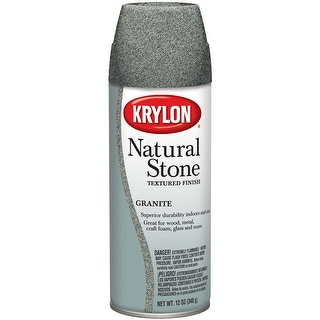 Natural Stone Aerosol Spray 12oz-Granite - gray
