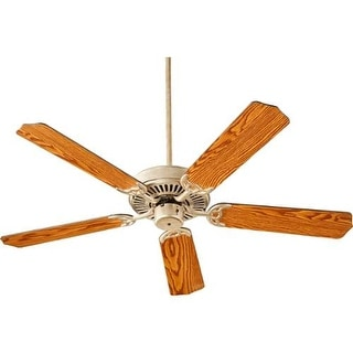 "Quorum International Q77525 Capri I 52"" 5 Blade Hanging Indoor Ceiling Fan with Reversible Motor, and Blades"