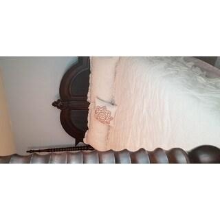 Madison Park Heidi Linen 4 Piece Quilted Comforter Set