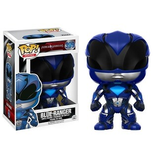 POP Power Rangers Movie Blue Ranger, Action Movies by Funko