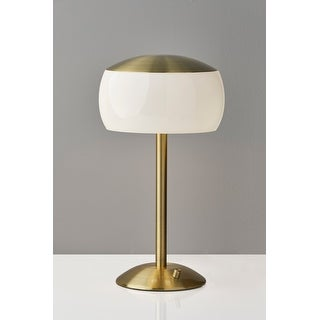 Adesso Brass or Steel Jessica Table Lamp