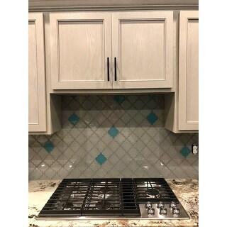 Arabesque Light Gray Tiles (7 Square Feet) (11 Sheets)