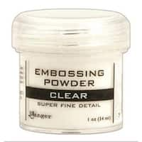 Super Fine Clear - Embossing Powder 1Oz Jar