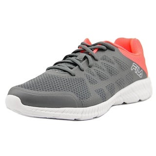 Fila Memory Finity Women Round Toe Synthetic Gray Running Shoe