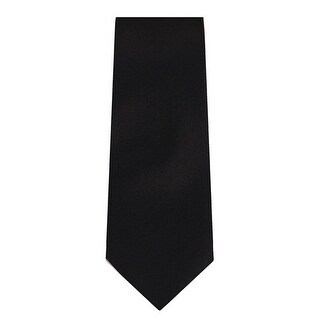 Marquis Men's Solid Slim Neck Tie & Hanky Set (More options available)