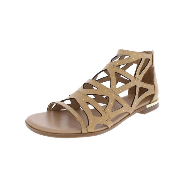 Fergie Womens Crazy Gladiator Sandals Flats Studded