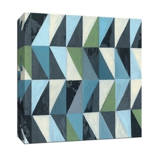 """PTM Images 9-147843  PTM Canvas Collection 12"""" x 12"""" - """"Geometric III"""" Giclee Patterns and Designs Art Print on Canvas"""