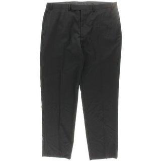 Calvin Klein Mens Dress Pants Wool Solid - 38/32