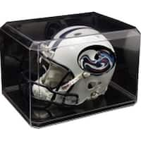 Football Mini Helmet Clear Display Case Holder