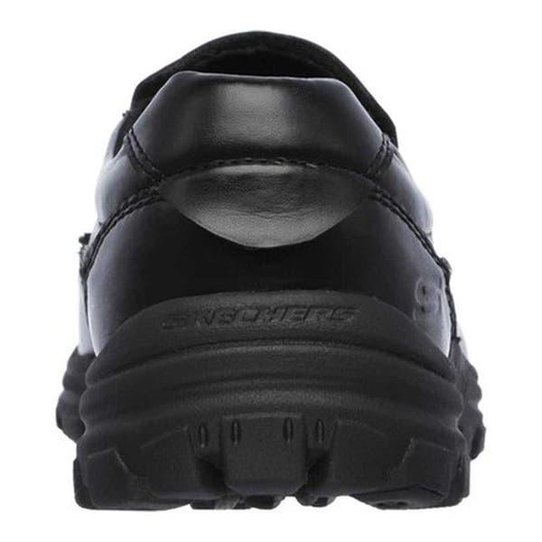 c0a4c728dbb02 Shop Skechers Men's Relaxed Fit Braver Rayland Slip On Black/Black ...