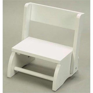 Giftmark 1615W Large Flip Stool White
